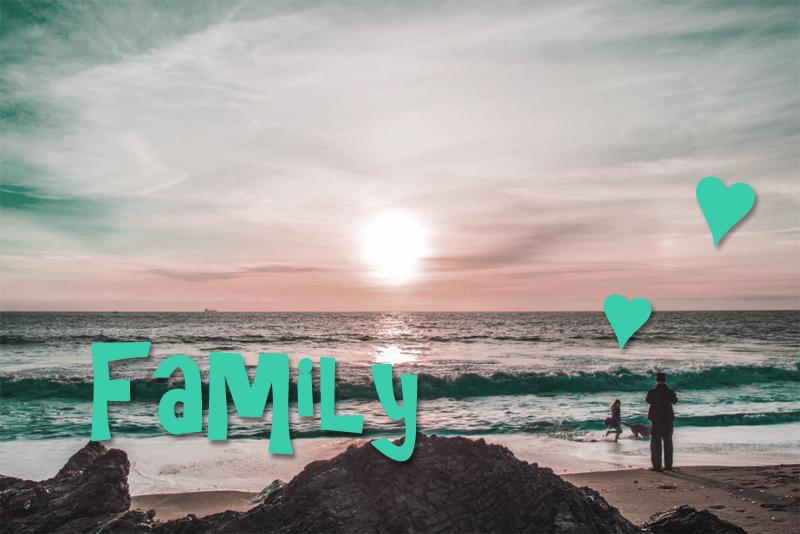ビーチ,家族