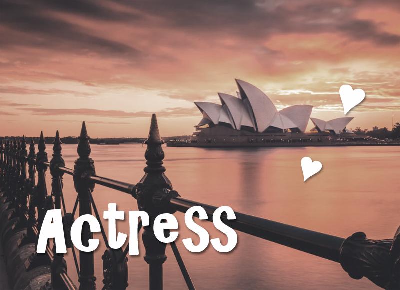 オーストラリア,女優