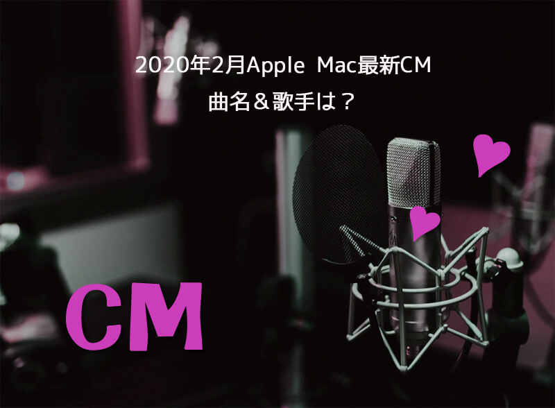 Apple MacアニメCMの曲名